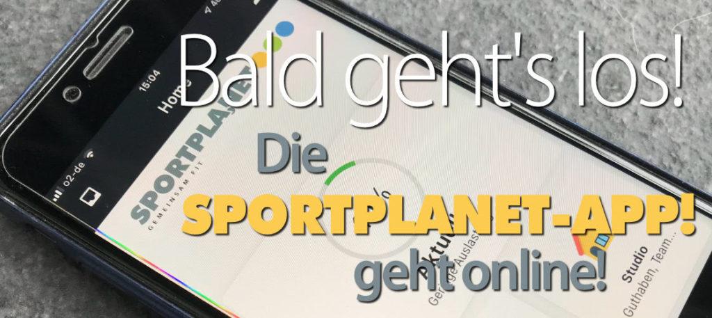 Ankündigung der Sportplanet-App