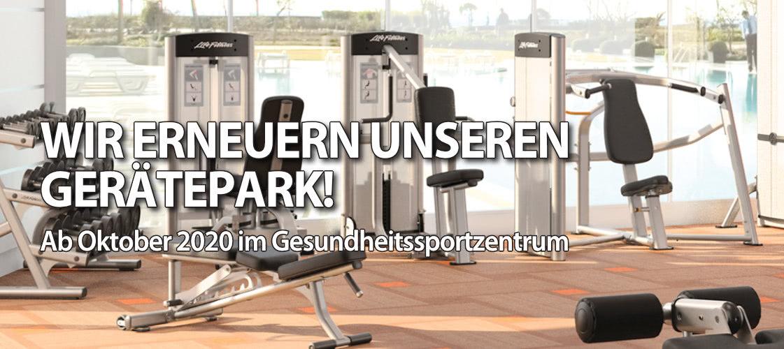 Wir erneuern unseren Gerätepark!